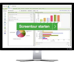 Start Sage CRM Screen-Tour